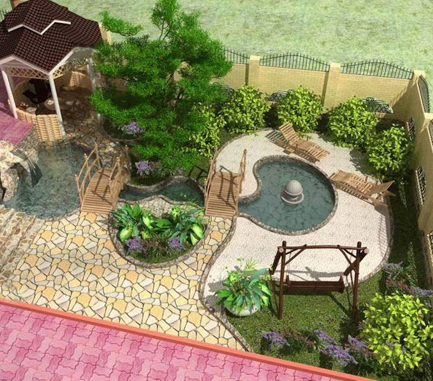 15 Small Yard Landscaping Ideas Using Imagination to ... on Tiny Yard Landscaping id=20774