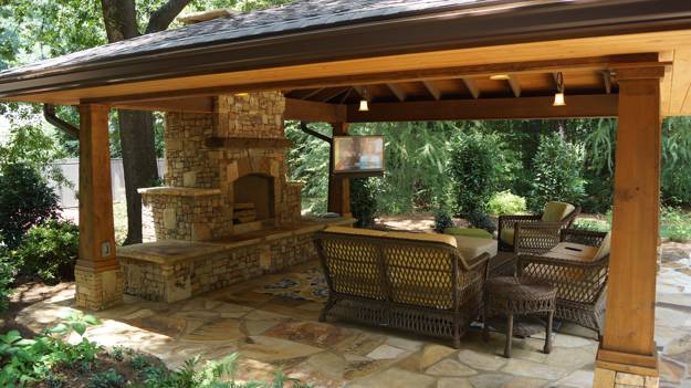 Ordinaire Wooden Pergola, Sun Shelter