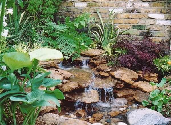 Garden Ponds With Waterfalls Diy