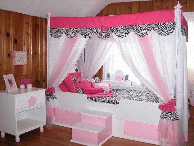 Incroyable Canopy Beds For Girls Bedroom Decorating