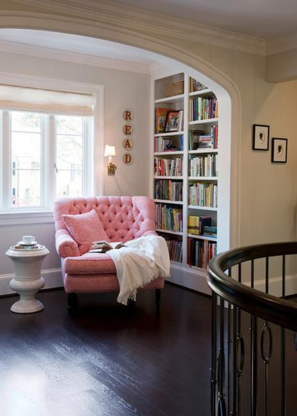 Living Room With Books: 25 Cozy Interior Design And Decor Ideas For Reading Nooks