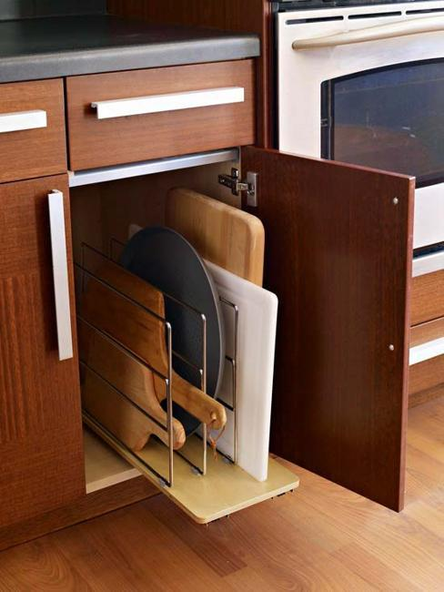 Open Kitchen Shelves And Modern Storage Solutions