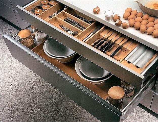 modern small space storage ideas | 30 Space Saving Ideas and Smart Kitchen Storage Solutions
