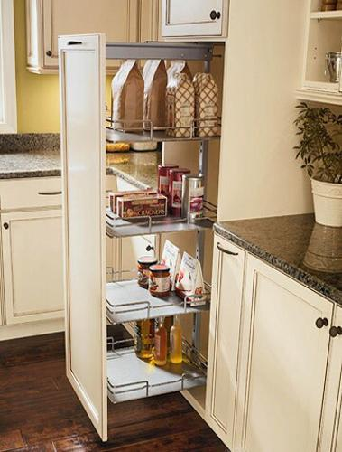 30 space saving ideas and smart kitchen storage solutions Kitchen storage cabinets for small spaces