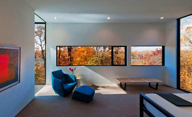 Large Windows Coloring Interior Design With Bright Displays