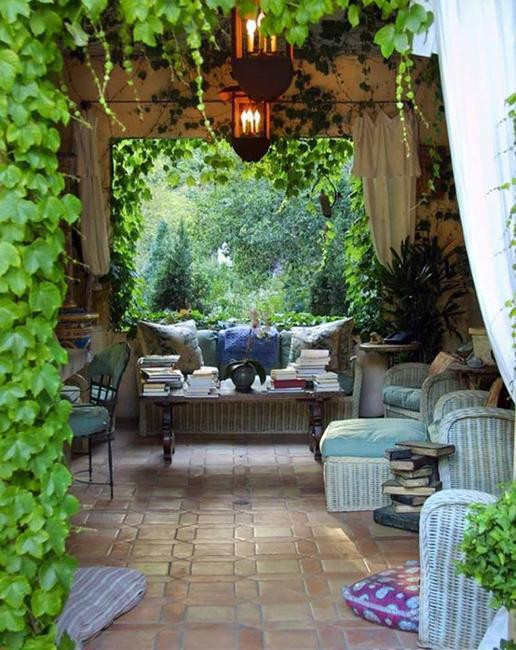 20 Beautiful Ideas to Design Outdoor Seating Areas with ... on Garden Sitting Area Ideas id=77915