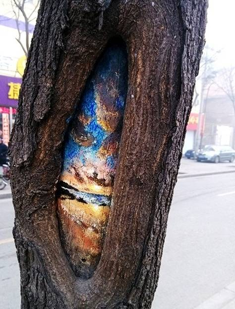 Painting Tree Trunks Creative Landscaping Ideas From