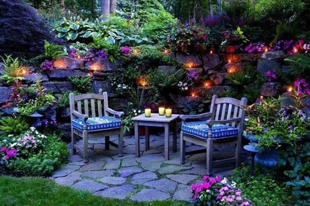 22 Small Backyard Ideas and Beautiful Outdoor Rooms ... on Small Backyard Patio Designs id=59622