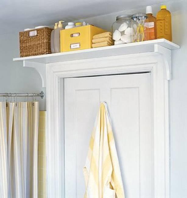 modern small space storage ideas | 25 Modern Ideas for Small Bathroom Storage Spaces