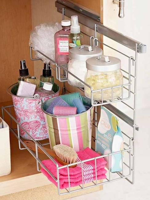 25 Modern Ideas For Small Bathroom Storage Spaces