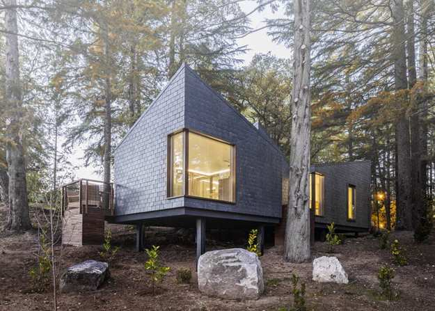 modern houses for downsizing