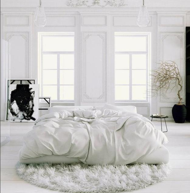 Large And Small Bedroom Designs White Decorating Ideas