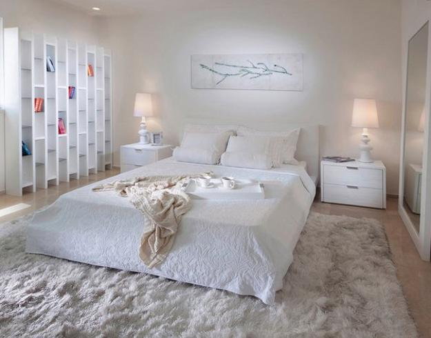 4 modern ideas to add interest to white bedroom decorating 16363 | white decorating ideas modern bedroom design 8