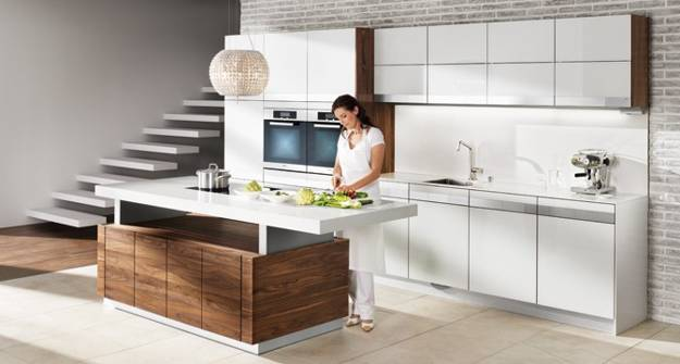 Exclusive eco friendly modern kitchen design by team7 for Mobilia kitchen