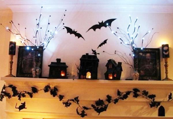 21 Stylish Living Room Halloween Decorations Ideas: 21 Black And White Decorating Ideas For Halloween Party In