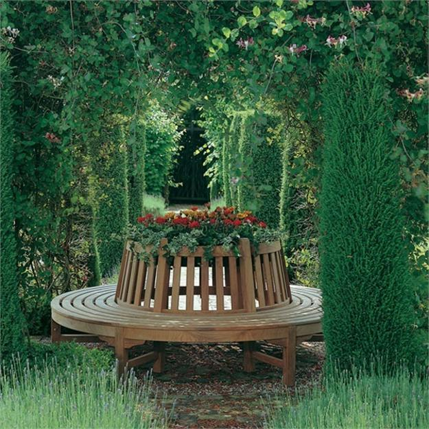 20 Creative Garden Benches Inspiring New Ideas For Garden Design