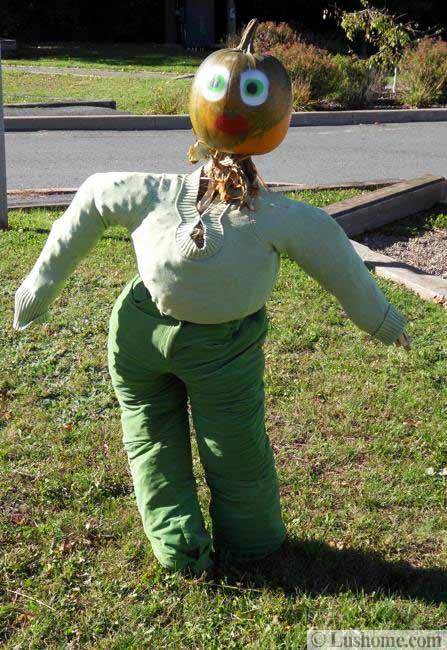 Pumpkin People Yard Decorations Eco Friendly Fall Crafts
