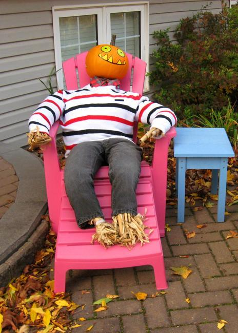 33 pumpkin people inspirations to make unique halloween decorations and fall crafts. Black Bedroom Furniture Sets. Home Design Ideas
