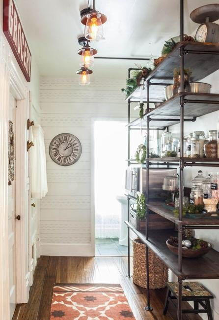 Interior Design Styles: 25 Plumbing Pipe Shelving Units That Fit In With Modern