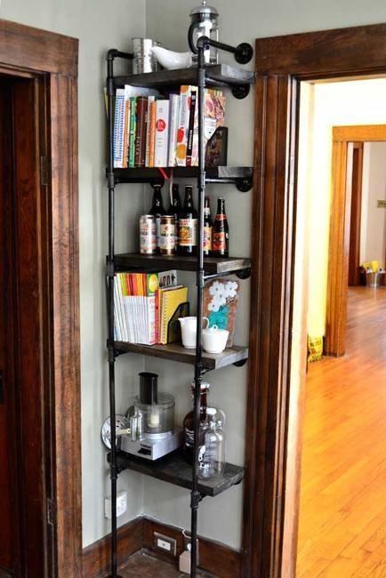 25 Plumbing Pipe Shelving Units That Fit In With Modern