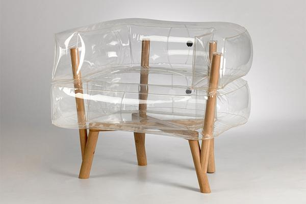 Bon Anda Armchair, Inflatable Furniture Design Idea