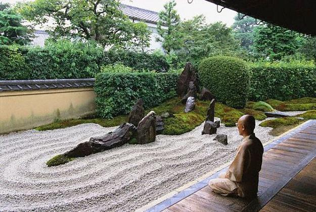 Anese Zen Garden Design Rock In Asian Style