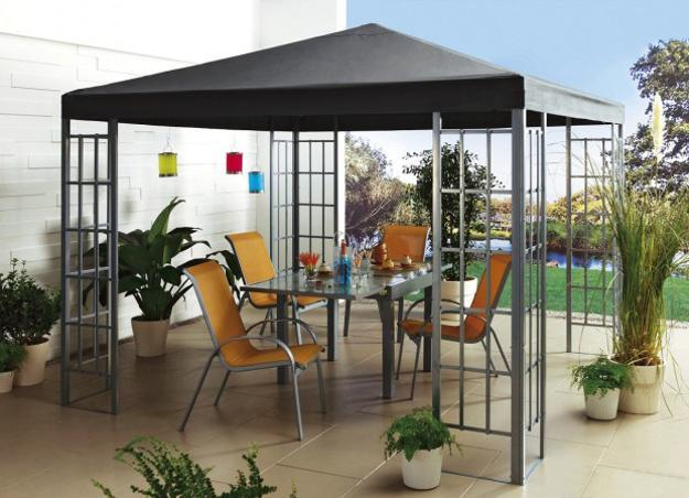 25 Metal Gazebo Designs and Great Outdoor Furniture ...