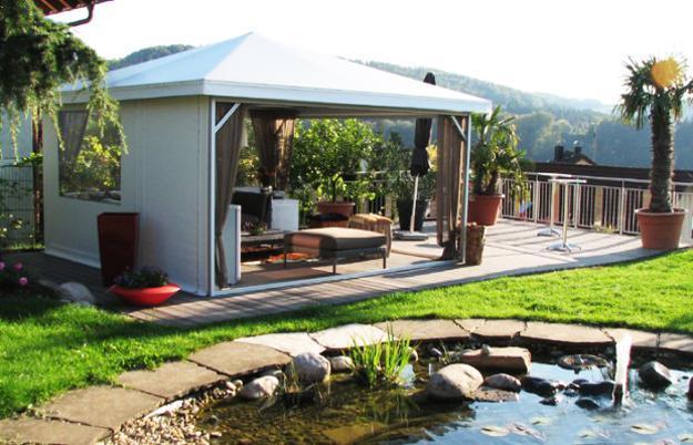 25 Metal Gazebo Designs and Great Outdoor Furniture ...