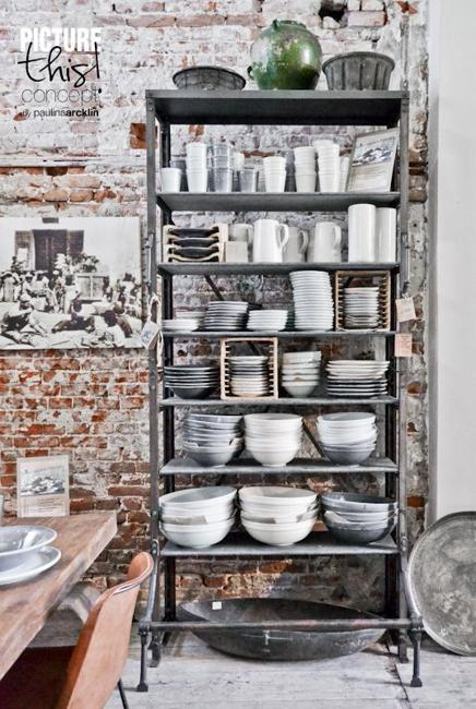 Diy Home Decorating Interior Design Idea: 25 Modern Shelving Systems Bringing Industrial Vibe Into