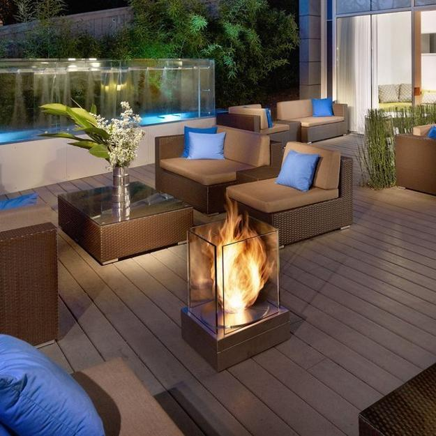 Modern And Stylish Exterior Design Ideas: 25 Contemporary Fireplace Design Ideas For Modern Outdoor