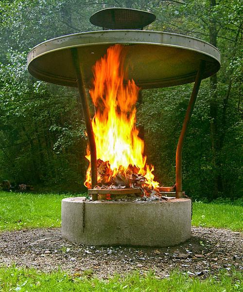 Contemporary Fireplace Design Ideas For Modern Outdoor Seating Areas