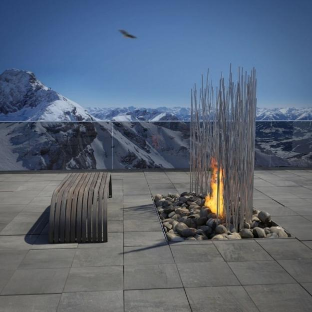 Enjoyable 25 Contemporary Fireplace Design Ideas For Modern Outdoor Download Free Architecture Designs Aeocymadebymaigaardcom