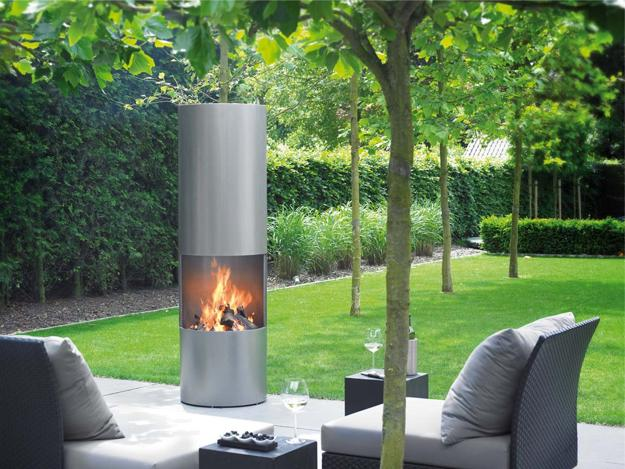 25 Contemporary Fireplace Design Ideas For Modern Outdoor