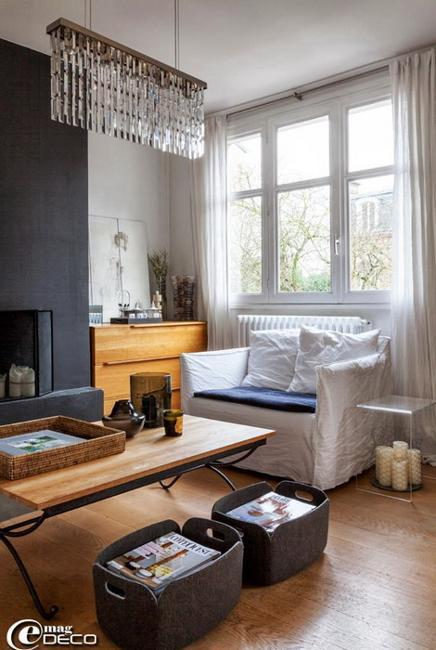 modern interior design for small spaces in french style