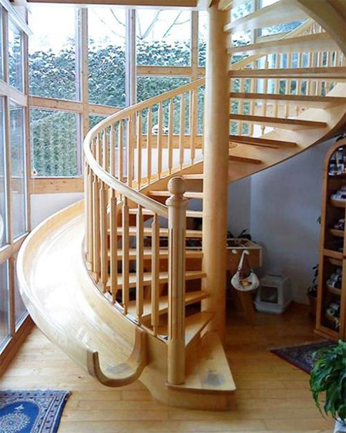 22 Modern Innovative Staircase Ideas: 22 Spiral Staircase Photographs, Inspirations For Interior