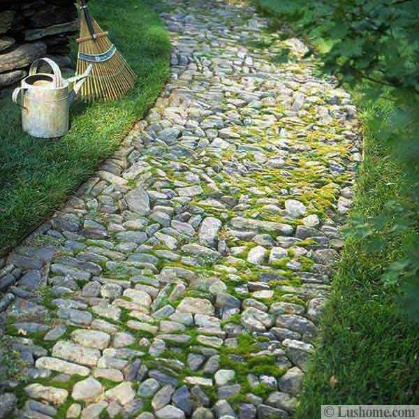 Walkways And Paths: 30 Stone Walkways And Garden Path Design Ideas