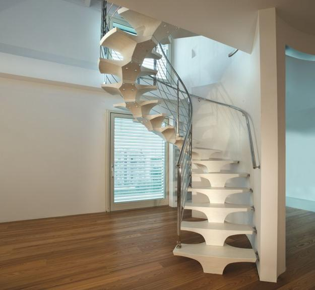 33 Staircase Designs Enriching Modern Interiors With: Concorde Staircase Design Blending Art With Functional