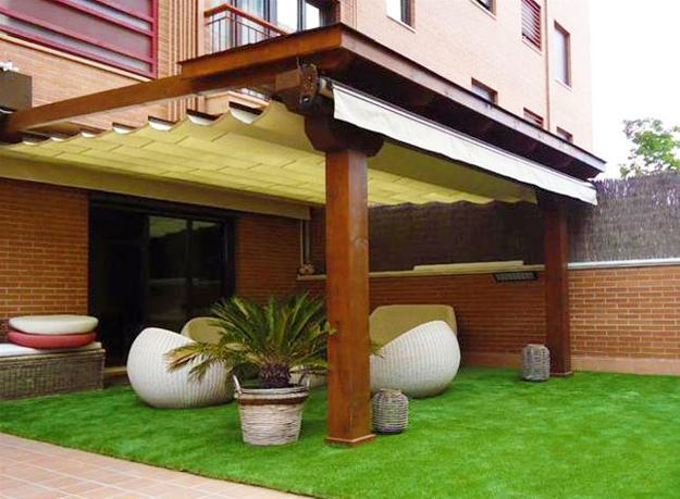 22 Beautiful Wooden Garden Designs to Personalize Backyard ... on Wooded Backyard Ideas id=24060
