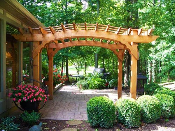 22 Beautiful Wooden Garden Designs to Personalize Backyard ... on Outdoor Backyard Design Ideas id=82491