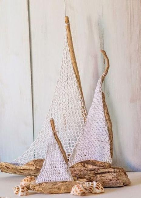 Image result for crocheted sailing ship