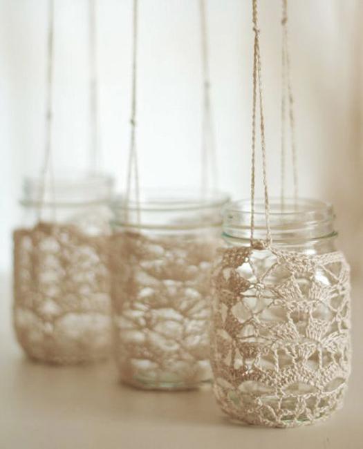35 modern ideas for crochet designs latest trends in decorating - Decoration au crochet ...