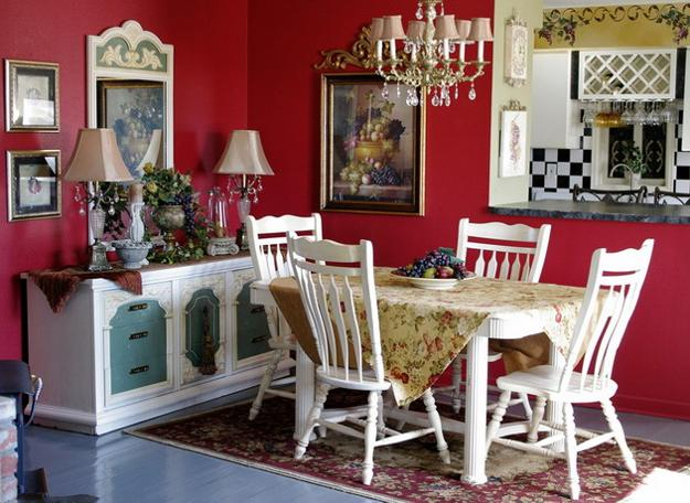 Delicieux Fall Ideas For Dining Room Decorating In English Country Style