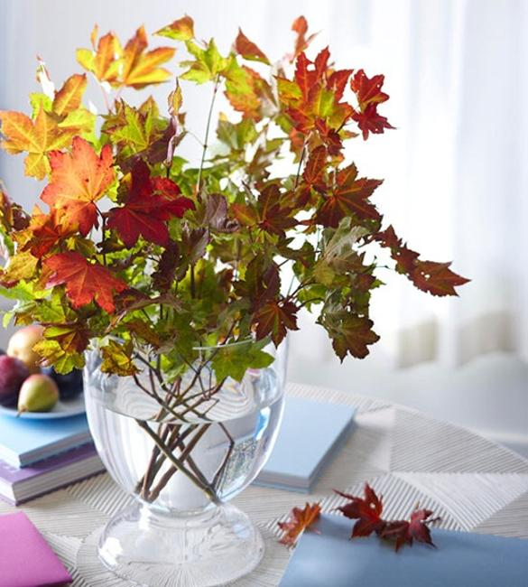 thanksgiving table centerpieces and fall decorations