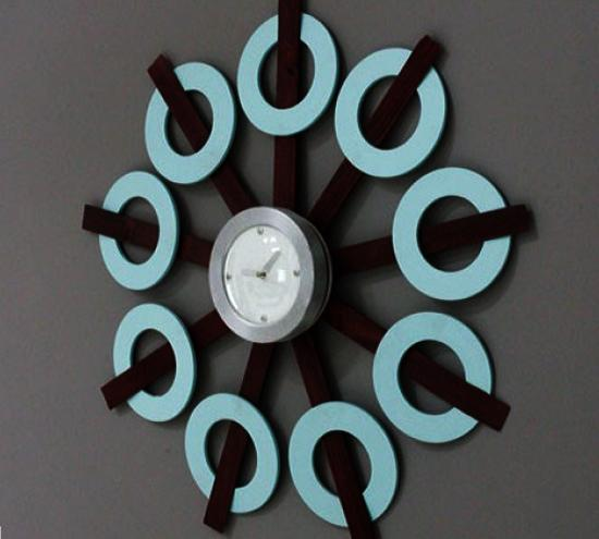 30 Funky Wall Clock Design Ideas Personalizing Interior Decorating With Diy Home Accessories