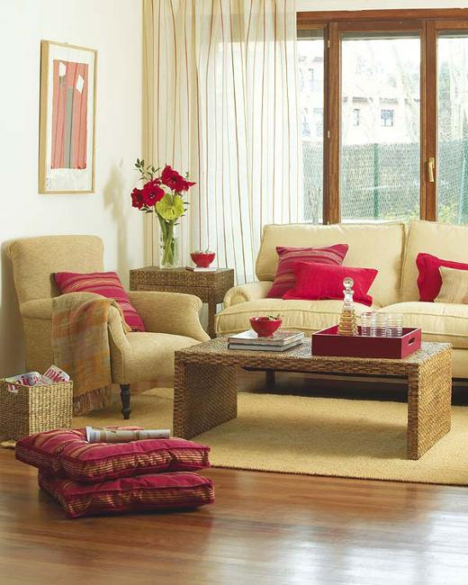 Modern Living Room Designs In Rich And Energetic Red Colors