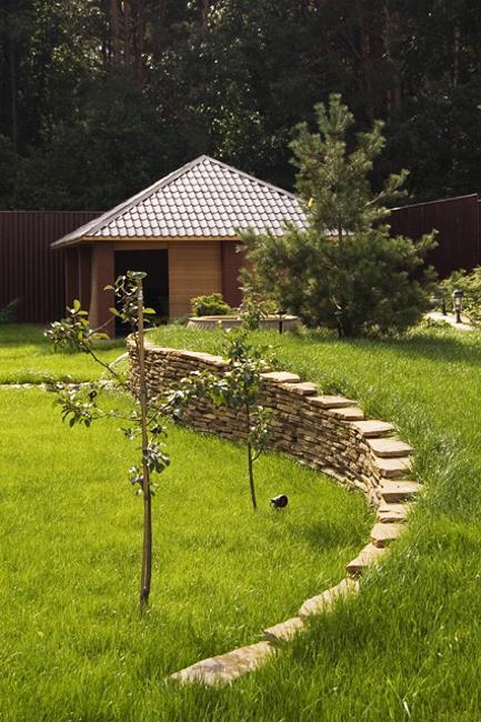 Terracing For Slopes And Stone Wall Design, Hill Landscaping Ideas