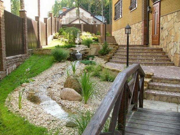 Ландшафтный дизайн огорода своими руками фото фото 618