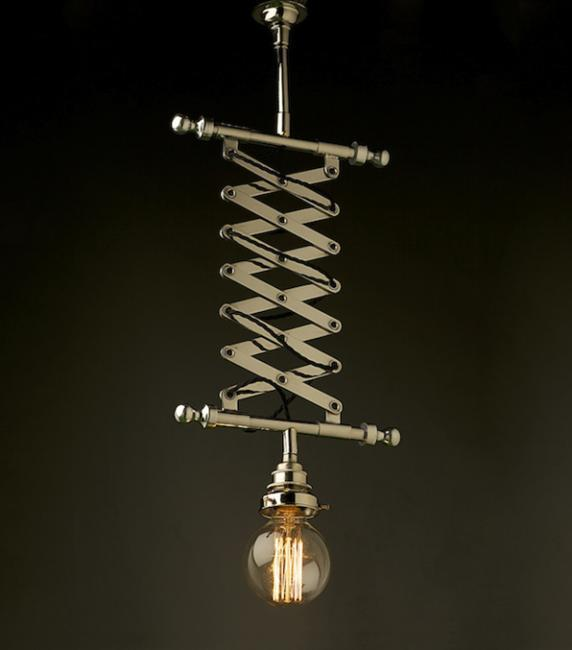 Interesting Light Fixtures: Retro Modern Lighting Fixtures With Industrial Style Vibe