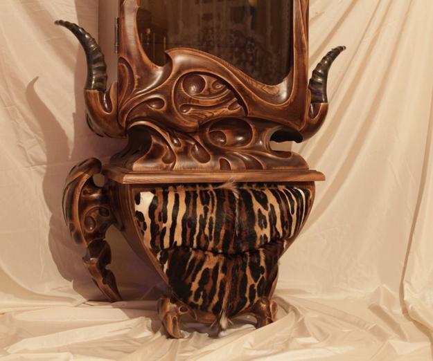 Carved Wood Furniture Details