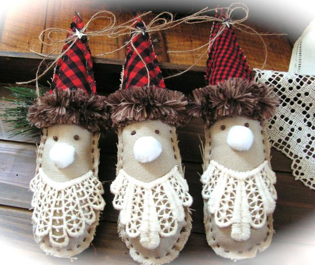 Winter Themed Christmas Decorations: 15 Recycling Ideas For Handmade Christmas Decorations And